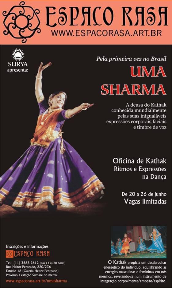Flyer Uma Sharma