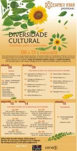Flyer da Semana da Diversidade Cultural